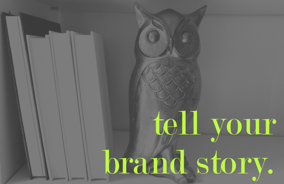 Tell your brand story. // SprintingHerald.com
