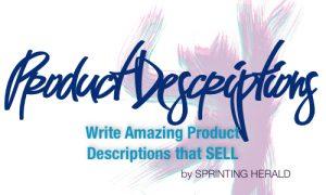 Write amazing product descriptions. Micro Course // SprintingHerald.com
